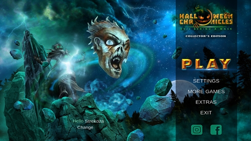 Halloween Chronicles 2: Evil Behind a Mask Collector's Edition 2019 Final