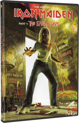 Iron Maiden - The History Of Iron Maiden Part 1 (2004, 2xDVD9)
