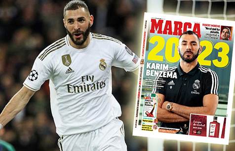 """Marca: """"Мадрид"""" предложит Бензема контракт до 2023 года"""