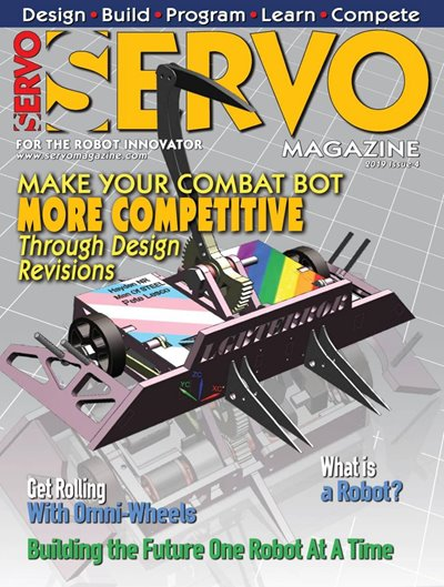Servo Magazine Issue 4 2019