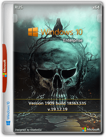 Windows 10 Enterprise 1909 by OneSmiLe [18363.535] (x64) (2019) =Rus=
