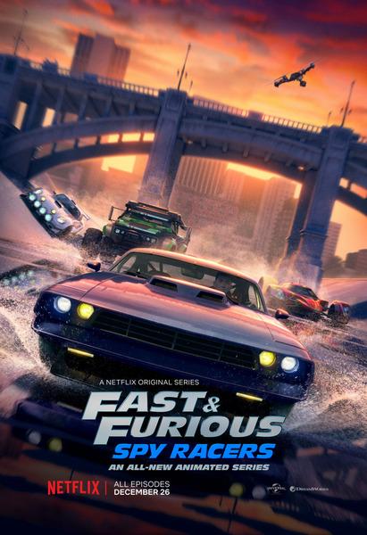 Форсаж: Шпионские гонки / Fast & Furious: Spy Racers [S01] (2019) WEB-DL 1080p | Пифагор | 7.58 GB