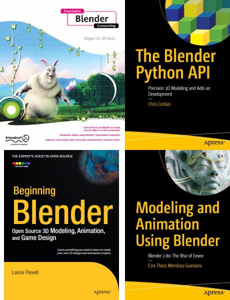 Apress   Книги по Blender [4 книги] (2009-2020) [PDF, EPUB] [En]
