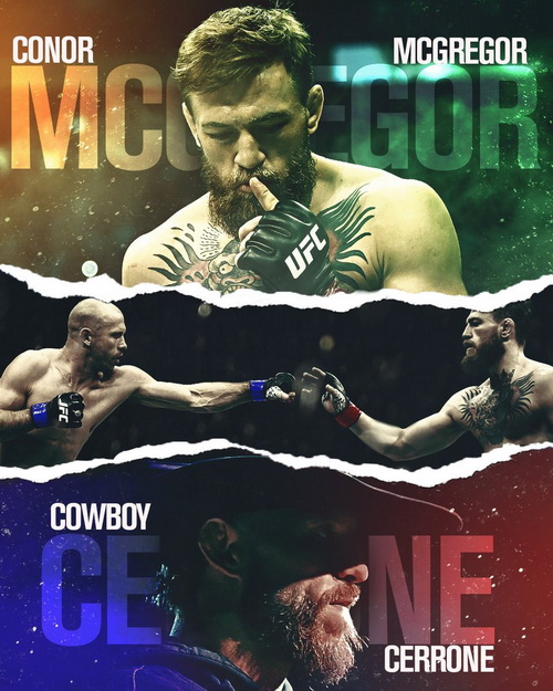 Смешанные единоборства. UFC 246: McGregor vs. Cowboy [Full Event] [19.01] (2020) HDTVRip 1080p, HDTVRip 1080i