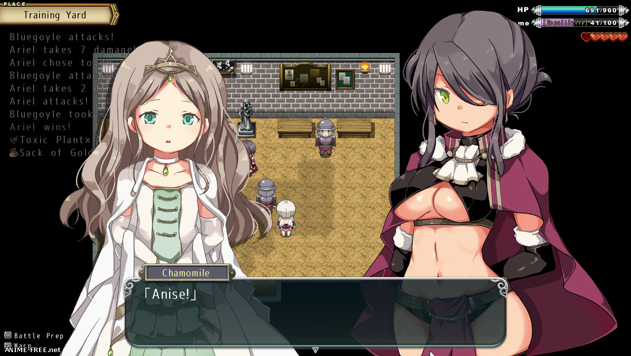 Sex Angel Ariel - The Kingdom's Guardian Angel [2019] [Cen] [jRPG] [ENG] H-Game