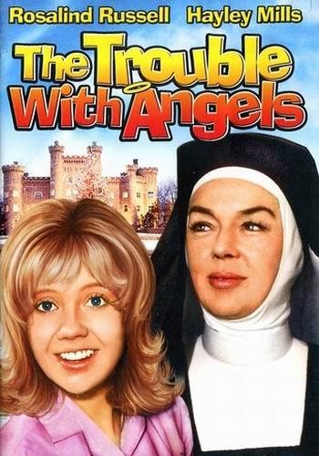Неприятностис ангелами / The Trouble with Angels (Ида Лупино / Ida Lupino) [1966, США, комедия, BDRip] VO (Игорь Клушин) + Sub Rus + Original Eng