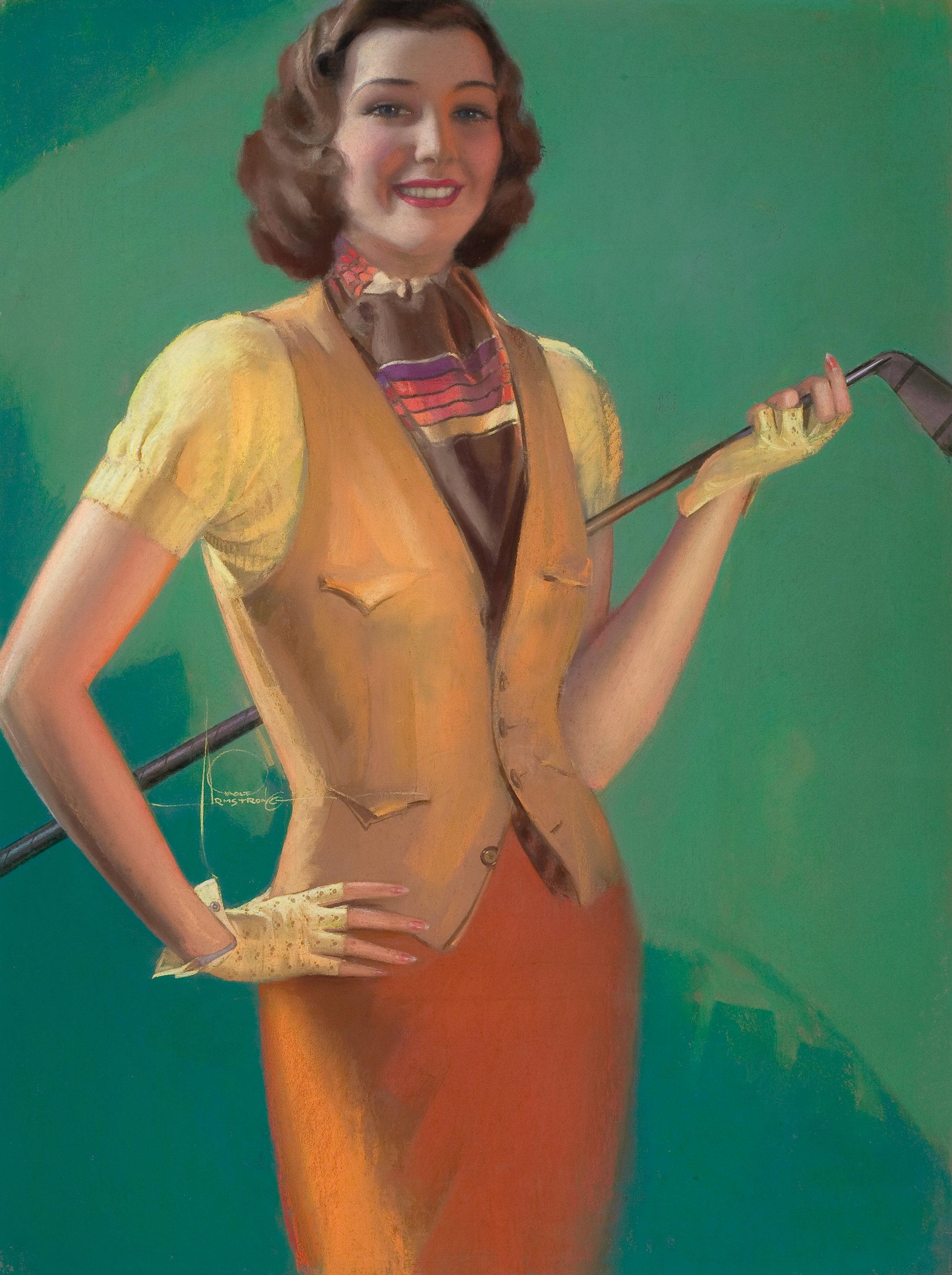 Golf Beauty, Old Gold cigarette advertisement.jpg