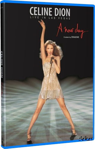 Celine Dion - A New Day Live in Las Vegas (2007, 2xBlu-ray)