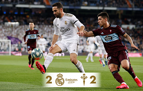 Real Madrid C.F. - R.C. Celta de Vigo 2:2