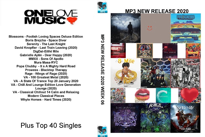 MP3 NEW RELEASES 2020 WEEK 06