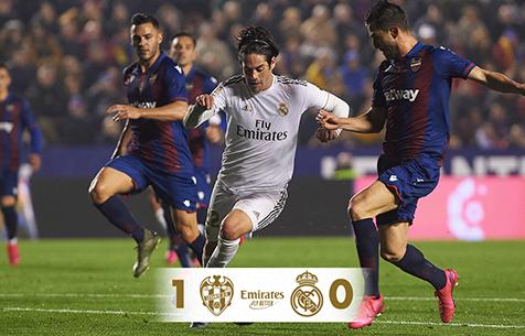 Levante UD - Real Madrid C.F. 1:0
