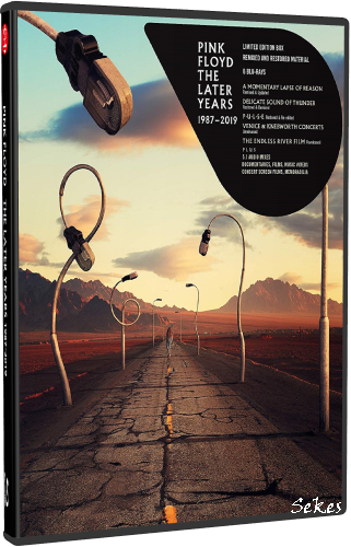 Pink Floyd - The Later Years 1987-2019 (2019, 5xDVD9)