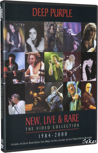 Deep Purple - New, Live & Rare (2000, DVD9)