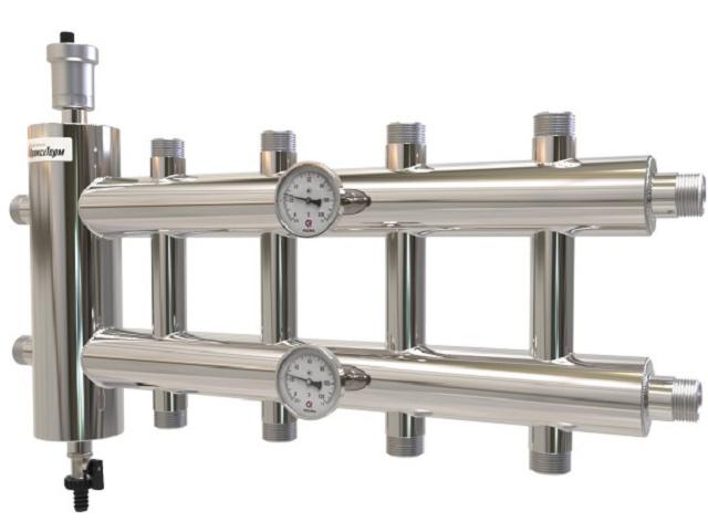 Гидрострелка с коллектором для отопления