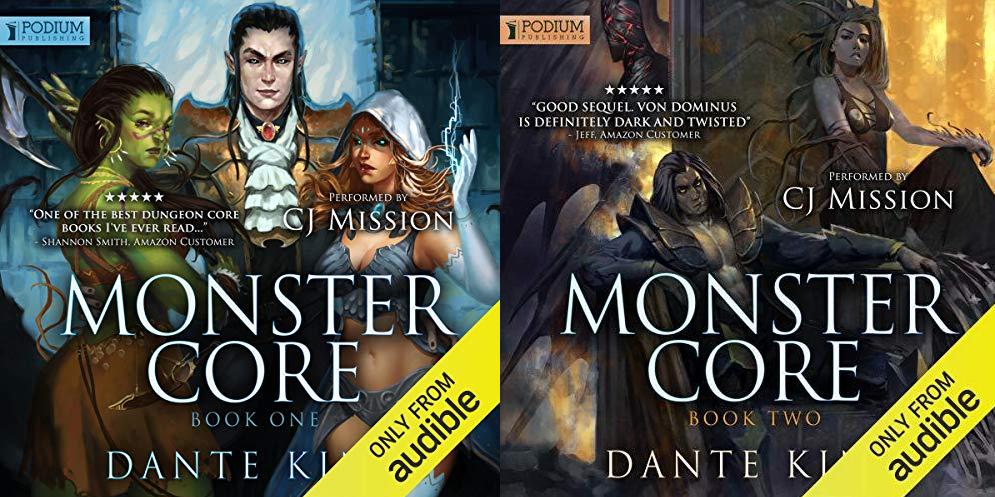 Dante King - Monster Core [Book 1 - 2]