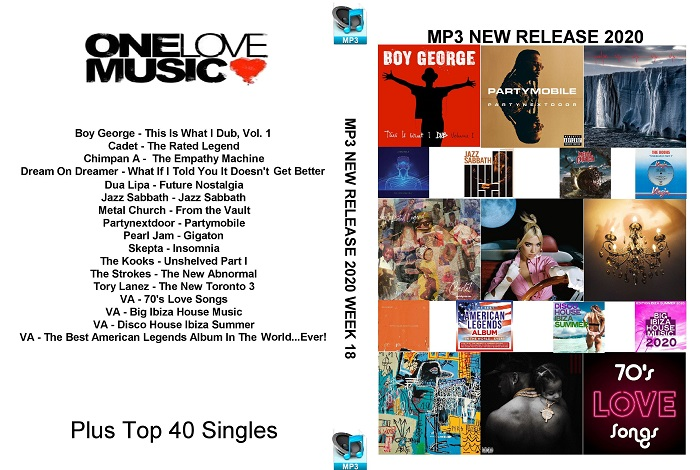 MP3 NEW RELEASES 2020 WEEK 18