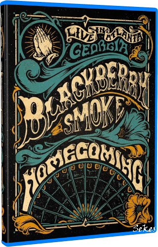 Blackberry Smoke ‎- Homecoming Live in Atlanta (2019, Blu-ray)
