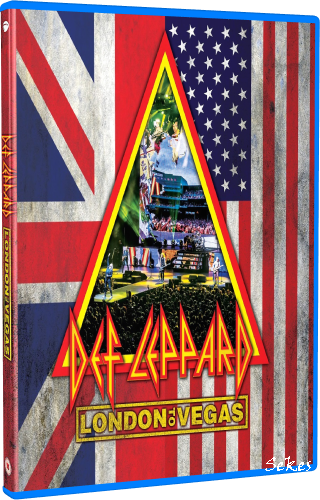 Def Leppard - Hits Vegas Live at the Planet Hollywood (2020, Blu-ray)