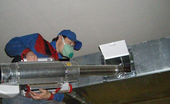 Чистка вентиляционных каналов в ресторане