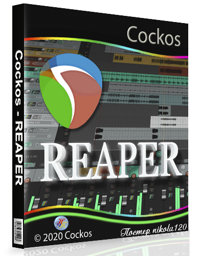 Cockos REAPER 6.11 RePack (& Portable) by xetrin [2020, Ru/En]