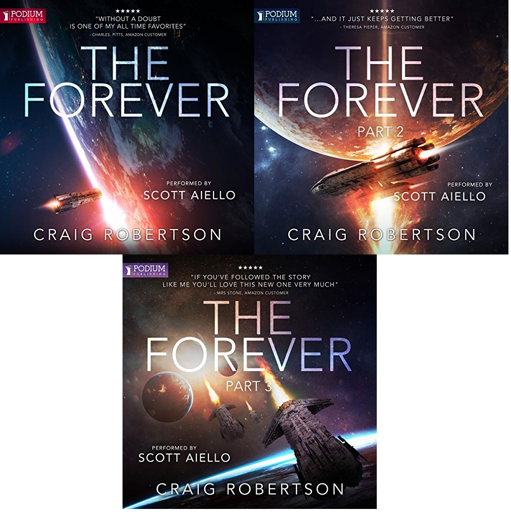The Forever Series Book 1-3 - Craig Robertson