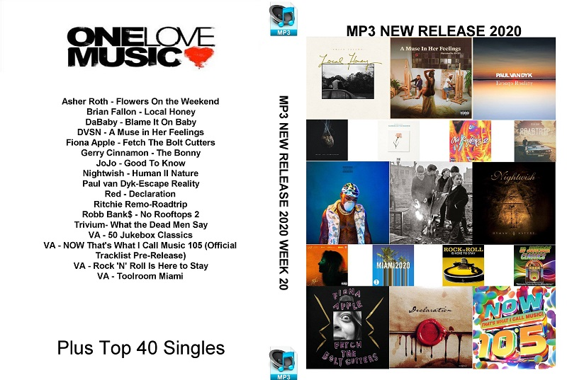 MP3 NEW RELEASES 2020 WEEK 20