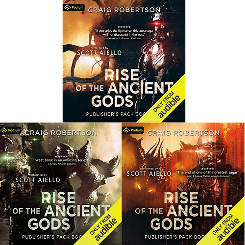 Rise of the Ancient Gods  Series Book 1-6 - Craig Robertson