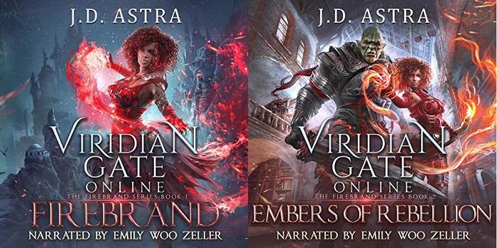 The Firebrand Series Book 1-2 - J. D. Astra, James Hunter