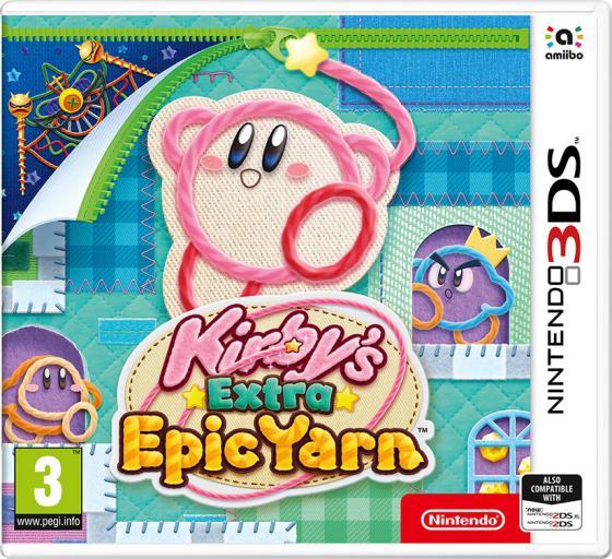 Kirbys Extra Epic Yarn (2019) [3DS] [EUR] 11.9.0 [CIA] [Repack] [Ru]
