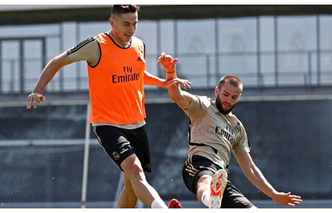Marca: Начо провел часть тренировки в общей группе