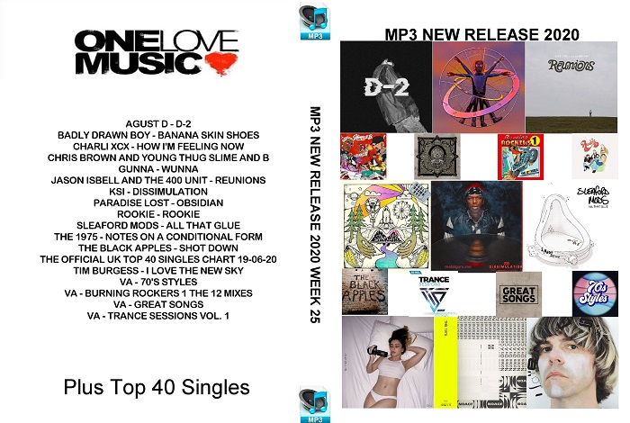 MP3 NEW RELEASES 2020 WEEK 25