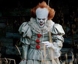 Маска «Клоун Пеннивайз (Оно)» (Clown Pennywise (It))