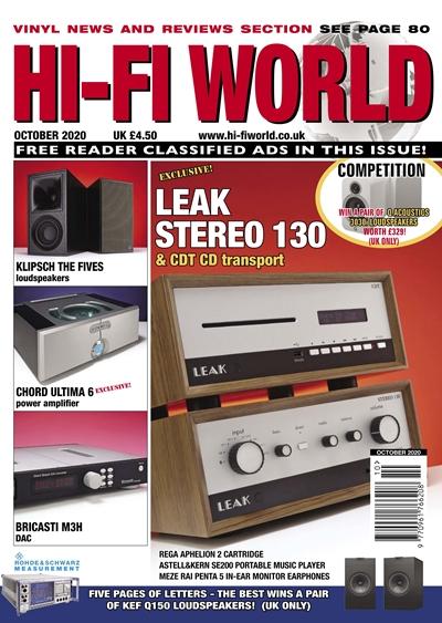 Hi-Fi World (October 2020)