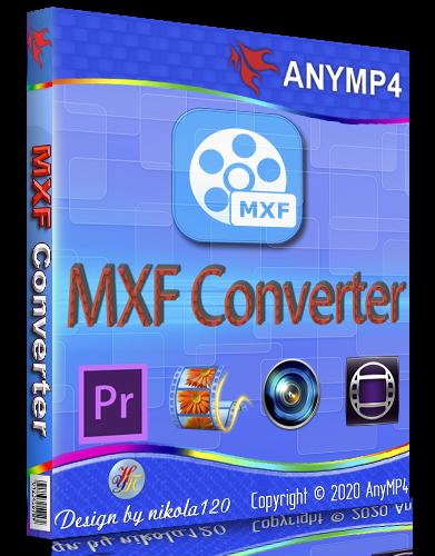 AnyMP4 MXF Converter 8.0.10 (2020) РС | RePack & Portable by TryRooM