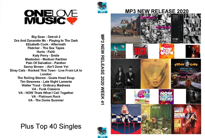 MP3 NEW RELEASES 2020 WEEK 41