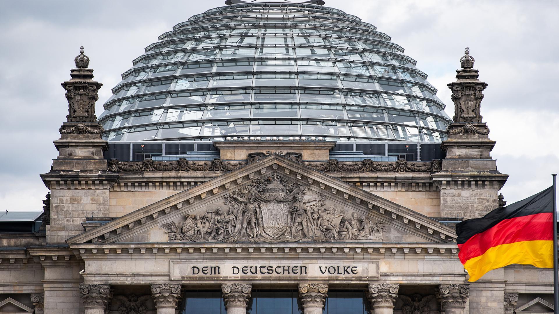 В Бундестаг прислали взрывчатку