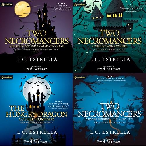 Unconventional Heroes Series Book 1-5 - L.G. Estrella
