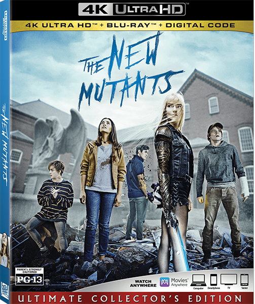 Новые мутанты / Люди Икс: Новые мутанты / The New Mutants (2020) BDRip 2160p   HDR   iTunes