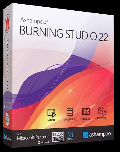 Ashampoo Burning Studio 22.0 RePack (& Portable) by TryRooM [2020,Multi/Ru]