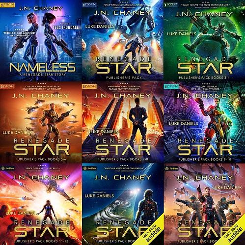 Renegade Star Series Book 0-16 - JN Chaney