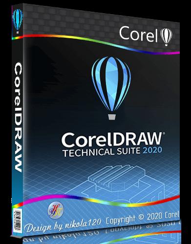 CorelDRAW Technical Suite 2020 22.2.0.532 (x64) RePack by KpoJIuK [2020,Multi/Ru]