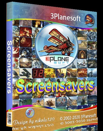 3Planesoft (3D Скринсейверы и Анимированные Обои) RePack by BELOFF [2020, Ru]