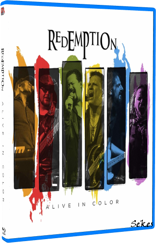 Redemption - Alive in Color (2020, Blu-ray)