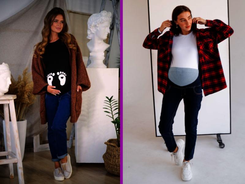 Платья или брюки: какая одежда подойдёт беременным