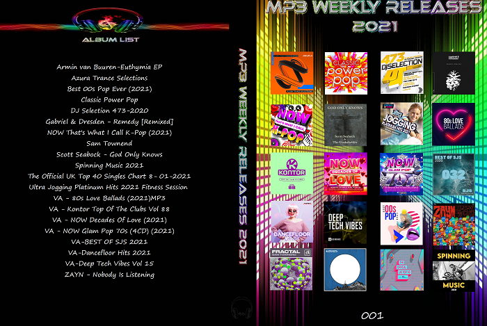 MP3 New Weekly Releases 001 2021