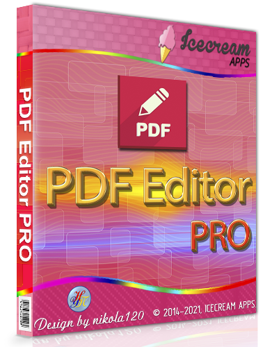 Icecream PDF Editor PRO 2.45 RePack (& Portable) by elchupacabra [2021,Multi/Ru]
