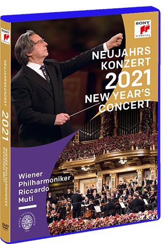 Vienna Philharmonic - New Year's concert 21 (2021, Blu-ray)