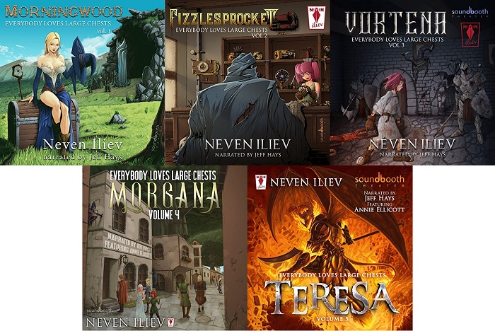 Everybody-Loves-Large-Chests Series Book 1-5 - Neven Iliev