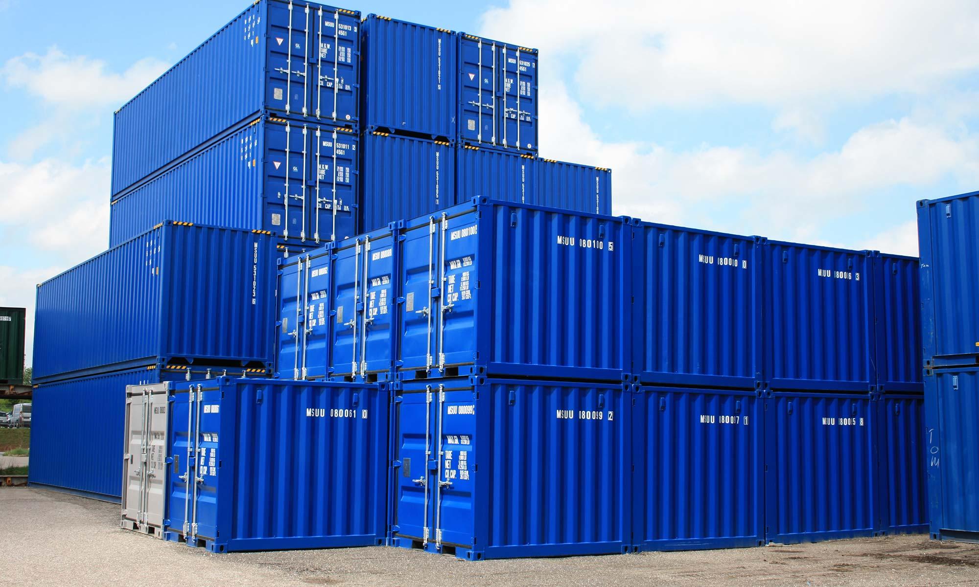 виды контейнеров