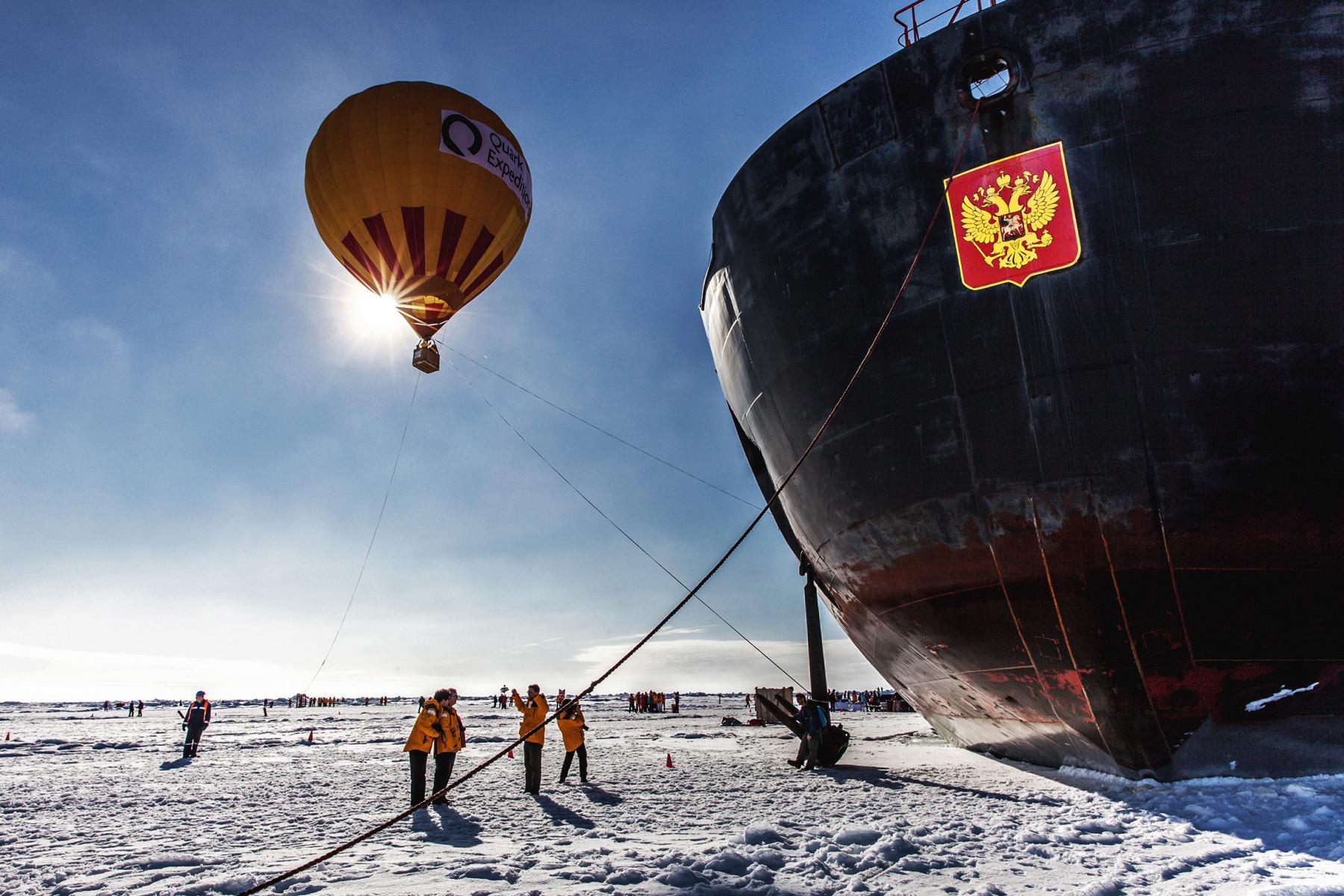 Экспедиционный круиз на лайнере по землям Северного полюса